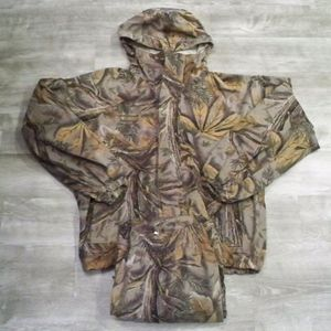 Vtg COLUMBIA Men's Camo Buckeye Coat & Pants Large